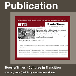 Press Coverage, Hoosier Time (April 28, 2019)