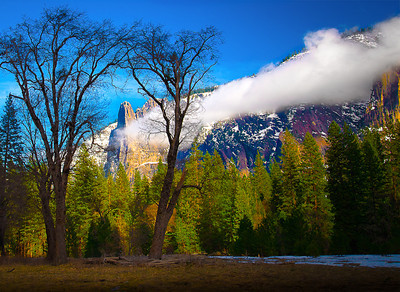 """Framing The Mountain""  Blue Ribbon Professional Photographers of the Greater Bay Area Print Competition  © Robert Ash"