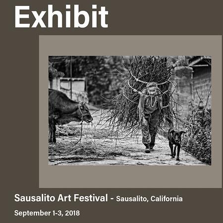 Exhibit in Sausalito, California (September 2018)