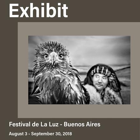Solo Exhibit at Festival de la Luz (August 2018)