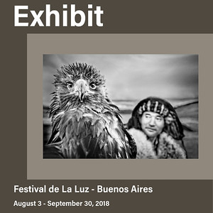 Solo Exhibit at Festival de la Luz (August 2018)