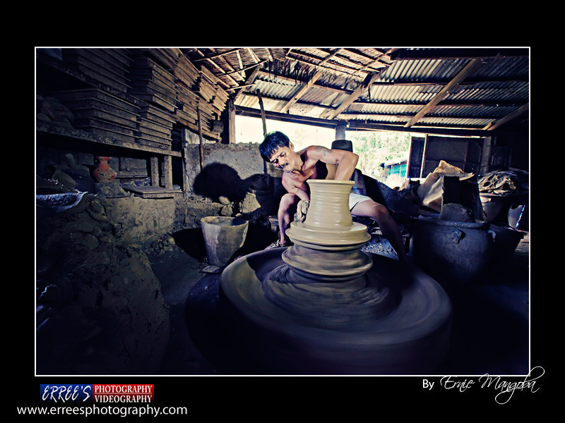 The Making of Pottery in Vigan City, Phillippines