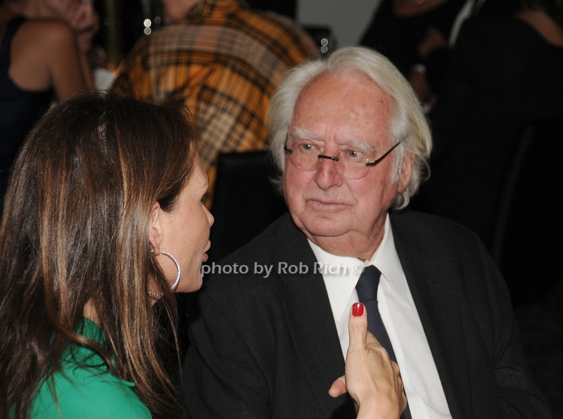 Clo Cohen and Richard Meier