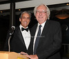 Charles Cohen and Richard Meier