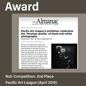 Pacific Art League, The Almanac Publication (April 2019)