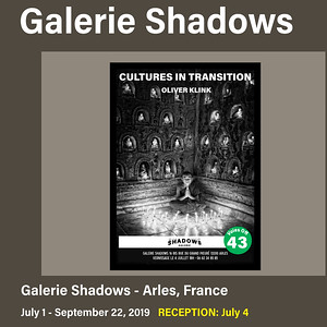 Galerie Shadows (July 1 - Sept. 22 , 2019)