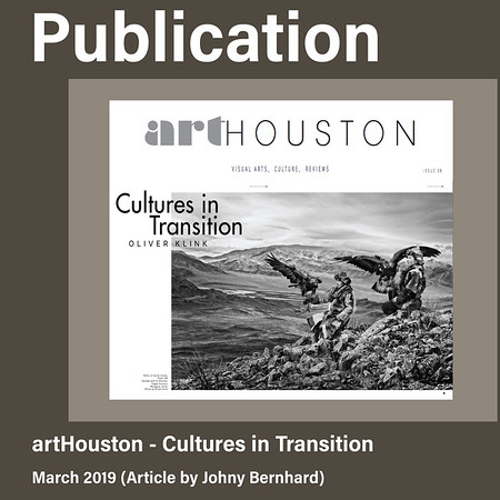 ArtHouston Magazine Publication (March 2019)