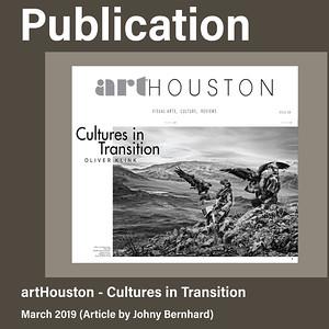 ArtHouston Magazine Publication (March 2019)