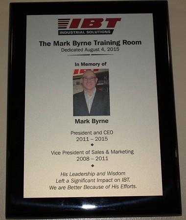 Mark Byrne Training Room
