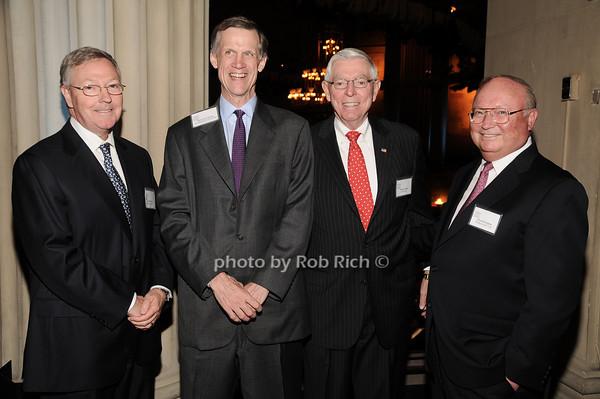 Carter Phillips, David Van Zandt, Richard Wiley,Chuck Douglas<br /> photo by Rob Rich © 2010 robwayne1@aol.com 516-676-3939