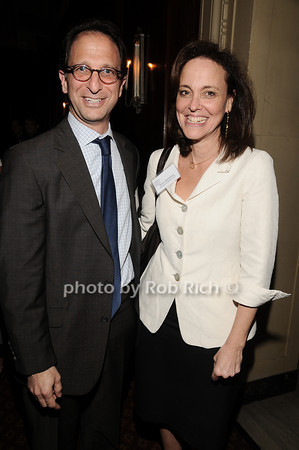 Andrew Weissmann, Susan Kohlmann<br /> photo by Rob Rich © 2010 robwayne1@aol.com 516-676-3939