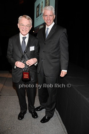 H.Rodgin Cohen, Stephen Lincoln<br /> photo by Rob Rich © 2010 robwayne1@aol.com 516-676-3939