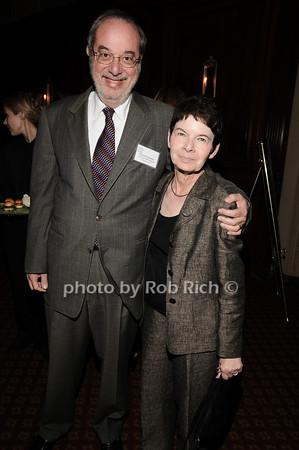 Russell Frackman, Myrna Morganstern<br /> photo by Rob Rich © 2010 robwayne1@aol.com 516-676-3939