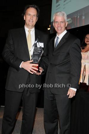 Robert Wyman, Stephen Lincoln<br /> photo by Rob Rich © 2010 robwayne1@aol.com 516-676-3939