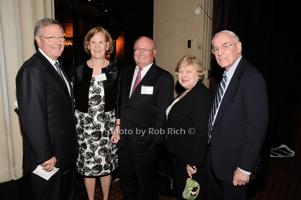 Carter Phillips, Sue Henry, Chuck Douglas,Jenny Sue Donner, Don Donner<br /> photo by Rob Rich © 2010 robwayne1@aol.com 516-676-3939