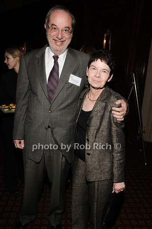 Russell Frackman, Myrna Morganstern<br /> photo by Rob Rich © 2010 robwayne1@aol.com 516-676-3939