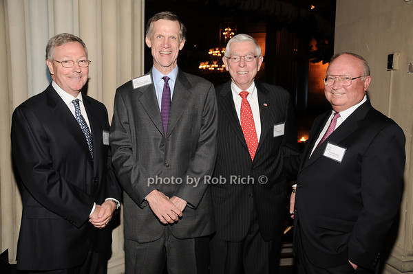 Carter Phillips, David Van Zandt, Richard Wiley,Chuck Douglas<br /> photo by Rob Rich © 2010 robwayne1@aol.com 516-676-3939
