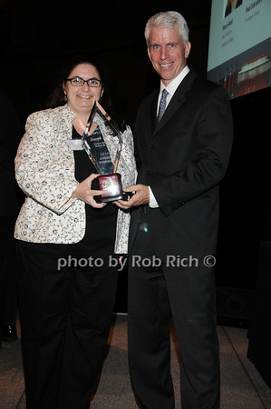 Christine Webber ( accepting for Joseph Sellers), Stephen Lincoln<br /> photo by Rob Rich © 2010 robwayne1@aol.com 516-676-3939