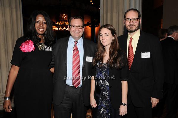 Patricia France, Kenneth,guestt,William Pollak<br /> photo by Rob Rich © 2010 robwayne1@aol.com 516-676-3939