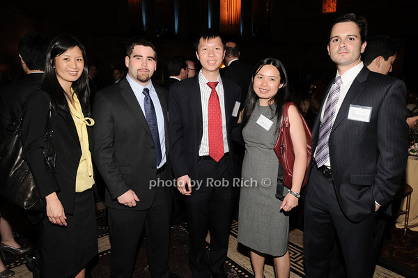 Rosalind Chan, Daniel Bell, Jason Yen,  Kelly  Yuan, Michael Favratto<br /> photo by Rob Rich © 2010 robwayne1@aol.com 516-676-3939