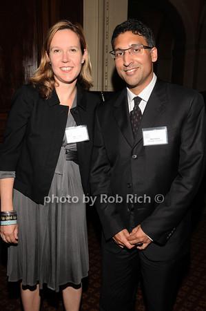 Amy Howe, Neal Katyal<br /> photo by Rob Rich © 2010 robwayne1@aol.com 516-676-3939