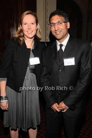 Amy Howe, Neal Katyal<br /> photo by Rob Rich © 2010 robwayne1@aol.com 516-676-3939