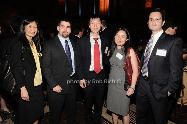 Rosalind Chan, Daniel Bell, Jason Yen,  Kelly  Yuan, Michael Favratto<br /> photo by Rob Rich © 2010 robwayne1@aol.com 516-676-3939