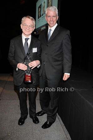 H.Rodgin Cohen, Stephen Lincoln<br /> photo by Rob Rich © 2010 robwayne1@aol.com 516-676-3939
