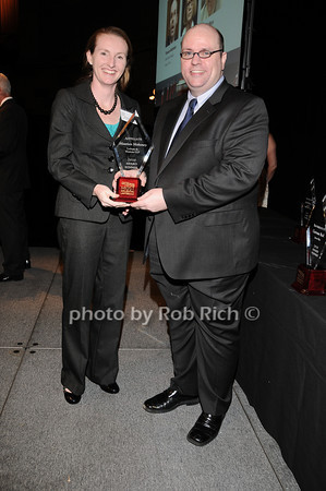 accepting for Maureen Mahoney, David Brown<br /> photo by Rob Rich © 2010 robwayne1@aol.com 516-676-3939