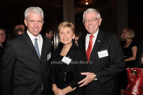 Stephen Lincoln, Betty Wiley, Richard Wiley<br /> photo by Rob Rich © 2010 robwayne1@aol.com 516-676-3939
