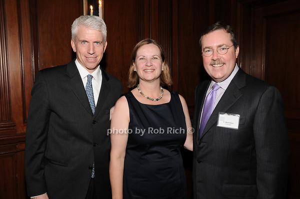 Stephen Lincoln, Grace Baker, C.Mark Baker<br /> photo by Rob Rich © 2010 robwayne1@aol.com 516-676-3939
