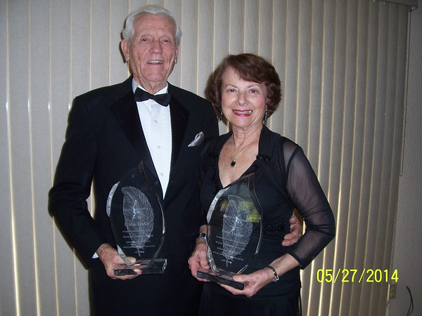Special Awards for Ann & Frank Taylor