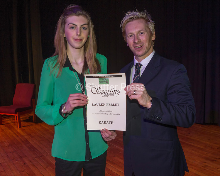 Tees Valley School Sports Council Annual Awards Evening 2015