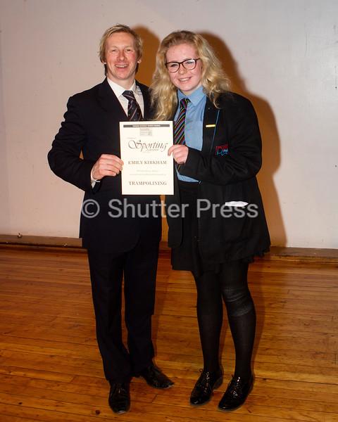 Emily Kirkham - Teesside Schools Sports Council Awards