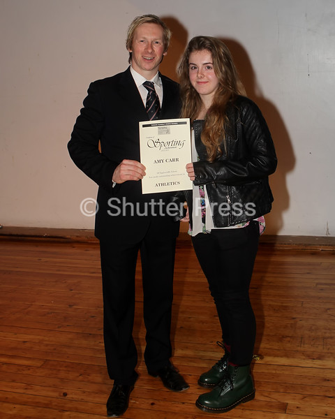 Amy Carr - Teesside Schools Sports Council Awards
