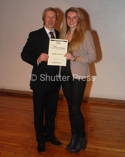 Emma Kelly - Teesside Schools Sports Council Awards