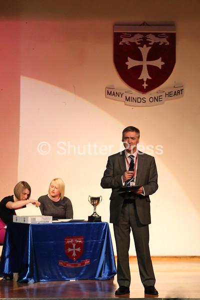 Craig Walker, Headteacher of Northfield School & Sports College at the Teesside Schools Sports Council Awards Evening 2014