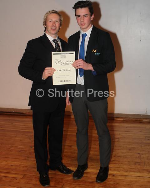 Aaron Jeal - Teesside Schools Sports Council Awards