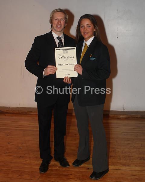 Amelia Horkan - Teesside Schools Sports Council Awards