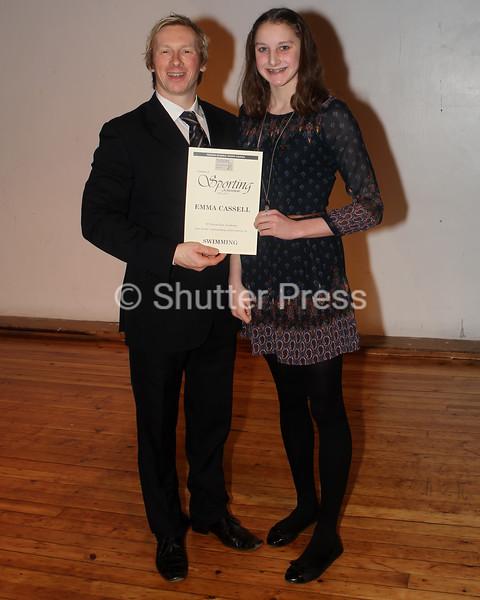 Emma Cassell  - Teesside Schools Sports Council Awards