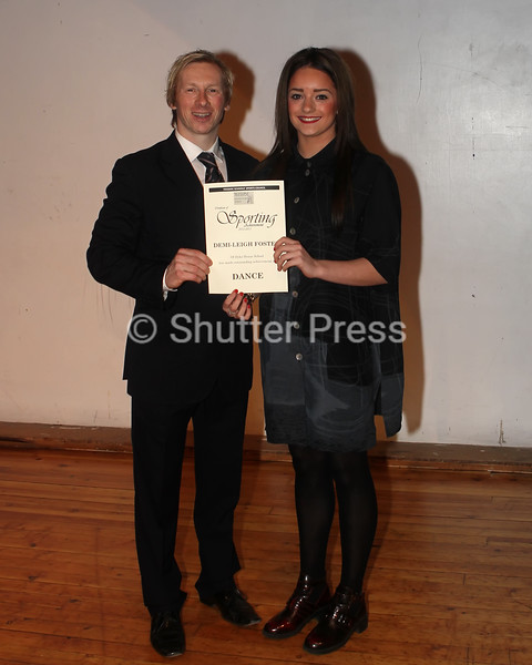 Demi - Leigh Foster - Teesside Schools Sports Council Awards