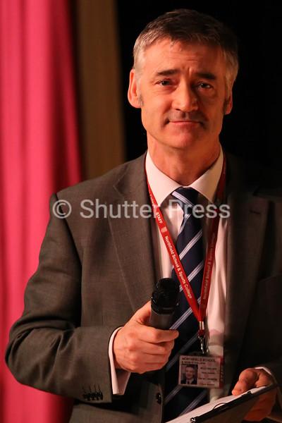 Craig Walker, Headteacher of Northfield School & Sports College - Teesside Schools Sports Council Awards Evening 2014