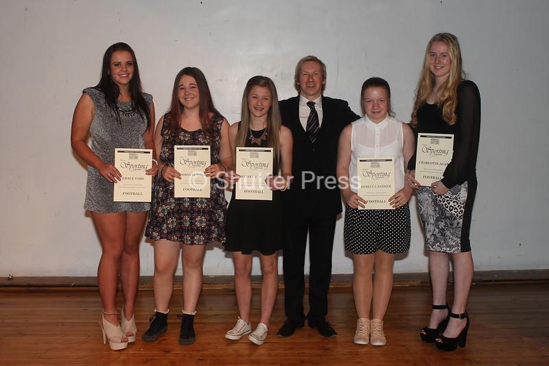 Lawrence Jackson Girls Fottball - Teesside Schools Sports Council Awards
