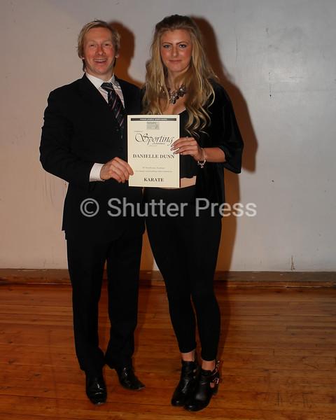 Danielle Dunn - Teesside Schools Sports Council Awards