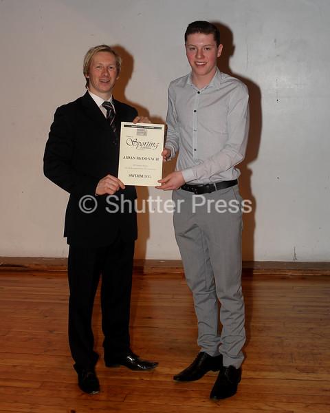 Aidan McDonagh - Teesside Schools Sports Council Awards