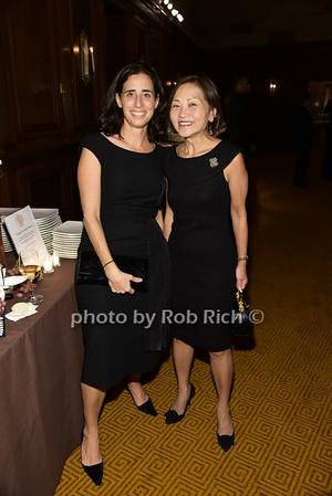 Dana Rosen, Vivia Chen photo by Rob Rich/SocietyAllure.com © 2015 robwayne1@aol.com 516-676-3939