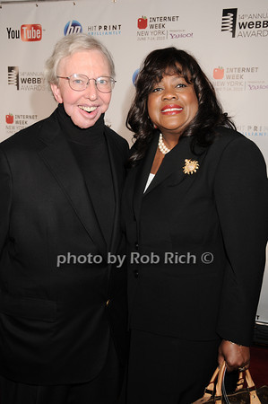 Roger Ebert, Chaz Ebert<br /> photo by Rob Rich © 2010 robwayne1@aol.com 516-676-3939