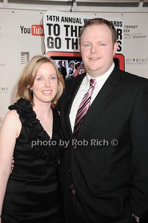 Kristen Upton, Chad Upton<br /> photo by Rob Rich © 2010 robwayne1@aol.com 516-676-3939