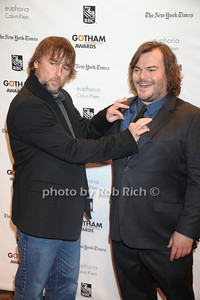 Richard Linklater, Jack Black  The Independent Film Project's 22nd Annual Gotham Independent Film Awards Arrivals New York City, USA - 11-26-12 photo by Rob Rich/SocietyAllure.com © 2012 robwayne1@aol.com 516-676-3939