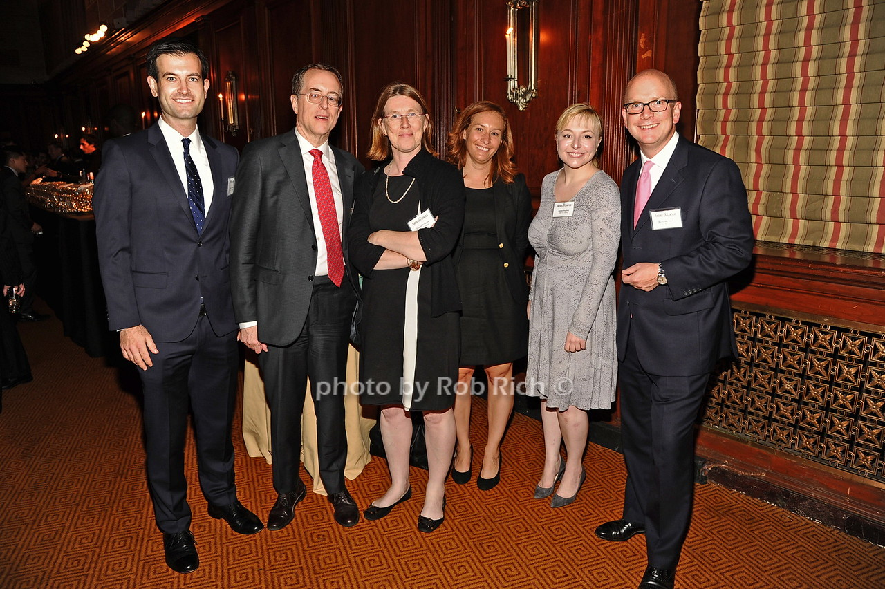 Justin Cohen, Bill Satchell, Elizabeth Leckie,  Christine Steenman,guest, guest